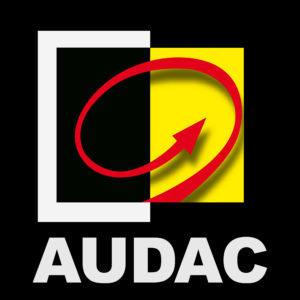 AUDAC blok logo