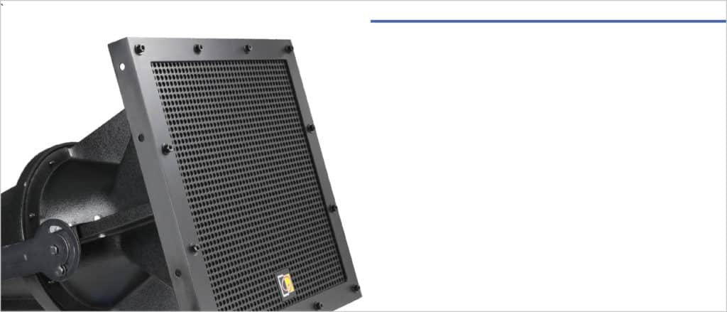 COMMERCIAL LOUDSPEAKERS